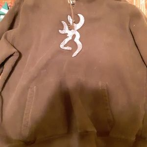 Brown wing girl hoodie
